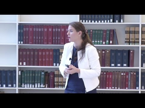 """Presentation by Dr. Gloria Gaggioli on """"Self-Defense in Armed Conflicts"""""""