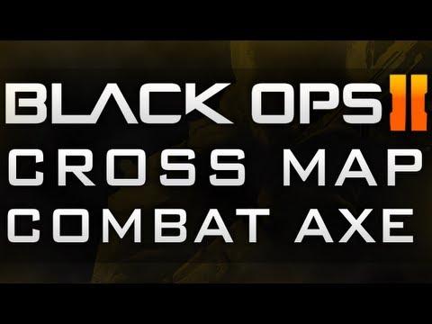 Black Ops 2 Carrier Spawn Combat Axe Across Map Tutorial SND Offending
