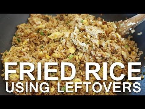Easy Fried Rice Recipe Using Leftovers (Made by Hubby)