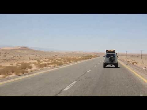 4 x 4 on the way to Wadi Araba