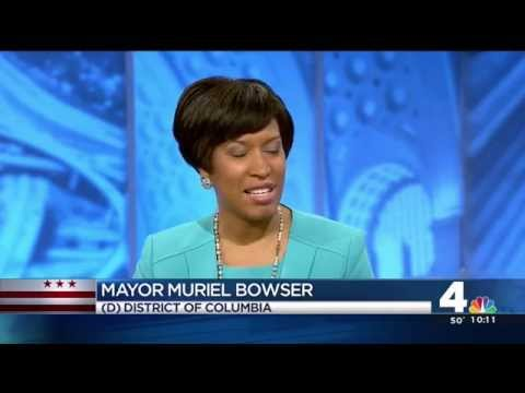 Mayor Bowser interview on News4 Today with Adam Tuss