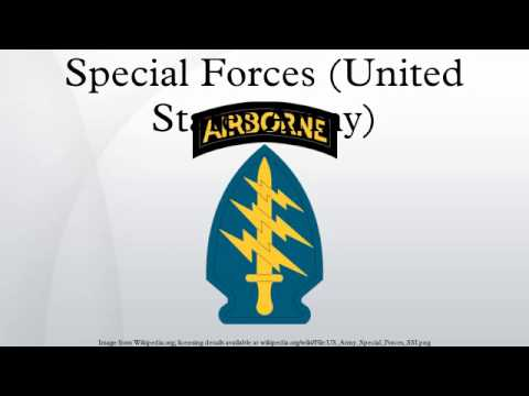 Special Forces (United States Army)