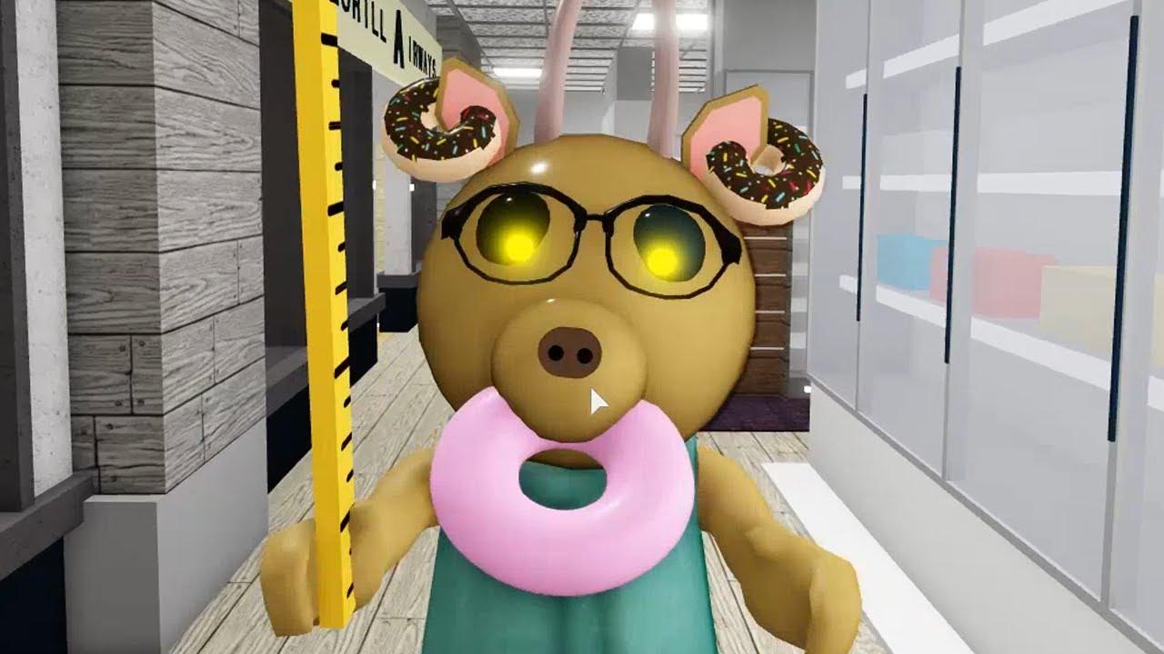 ROBLOX PIGGY 2 DONUT TEACHER JUMPSCARE - Roblox Piggy Book 2 rp