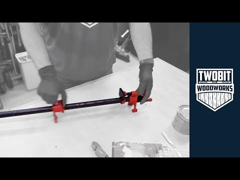 Extend the Life of Your Pipe Clamps | Woodworking - How To Assemble