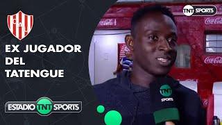 """Yeimar Gómez Andrade: """"Hace un par de días estaba entrenando para jugar, pero ahora vengo a alentar"""""""