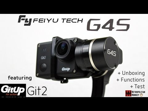 FeiYu Tech G4S with GitUp Git2 - Unboxing, Functions, First Field Test [Deutsch]