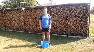 ice bucket challenge Ювченко Юрий, Садовник Сергей, Орлова Марина