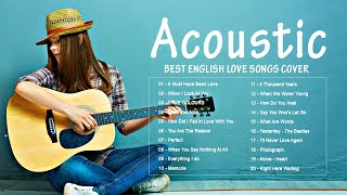 Acoustic 2020 / The Best Acoustic Covers of Popular Songs 2020