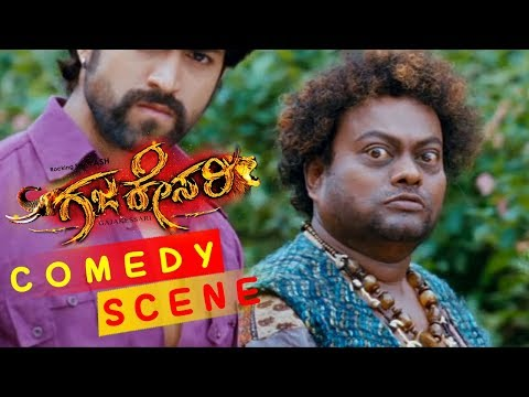 Yash Sadhu Kokila Comedy Scenes   Rangayana Raghu Super Comedy Scenes   Gajakessari Kannada Movie