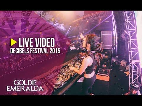 DJ Goldie Emeralda - Live at Decibels Festival 2015 - YouTube