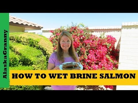 How To Wet Brine Salmon For Smoking Smoked Fish Recipe