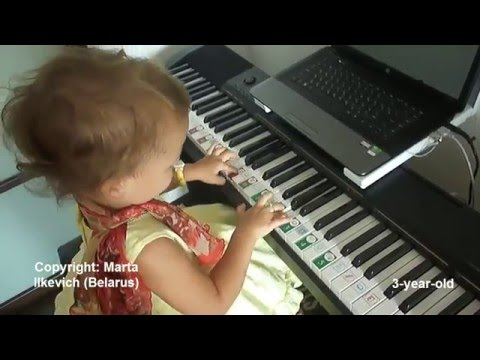 Soft Mozart Academy: Early Learner Sophiyka. The progress in 1,5 years