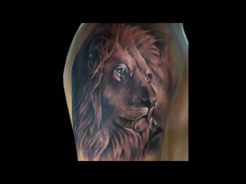 Best Lion Tattoos of 2018