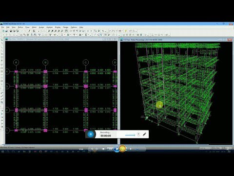 Five Story Building Design Step by Step with seismic & wind load  by Etabs 9.7.4 (A to Z )