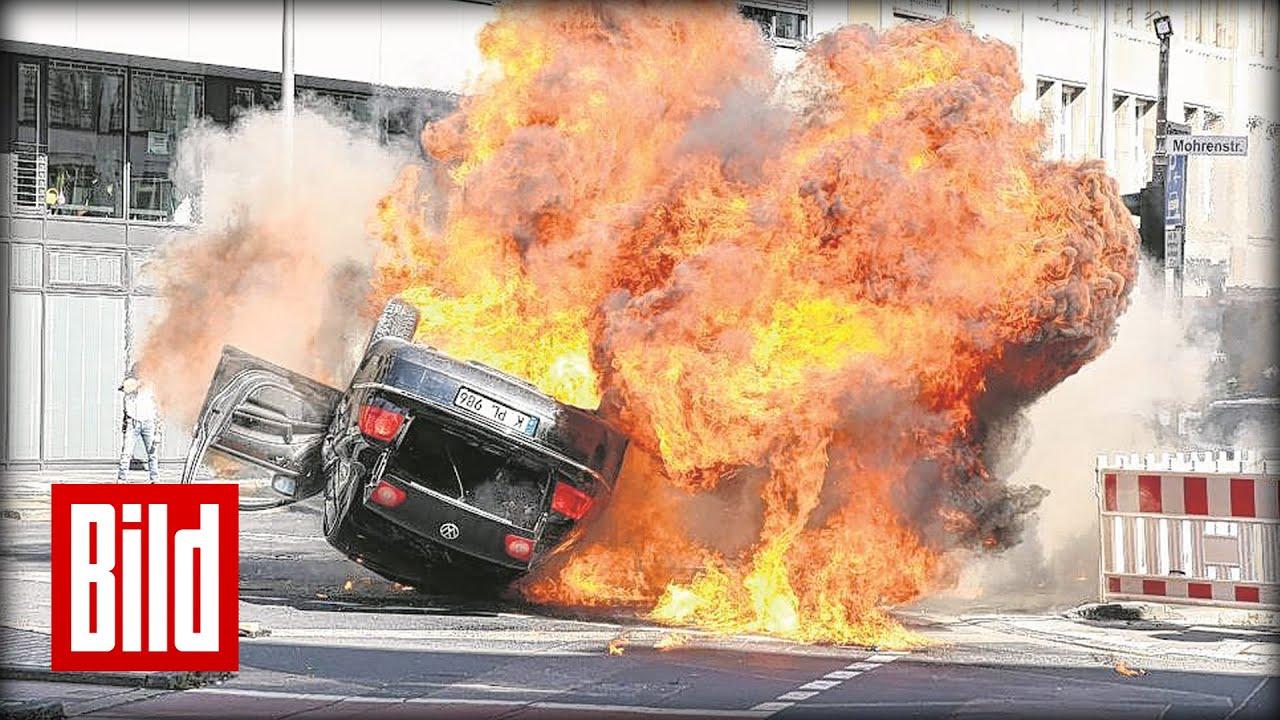 Auto Explodiert
