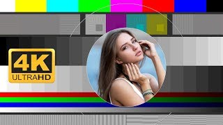 A 4k uhd test card to check your resolution, colour and conformity.