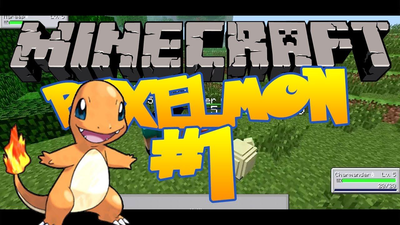 Minecraft pixelmon episode 1 i choose you - Pixelmon ep 1 charmander ...