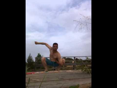 يوغا 1. في قرية تاميرا البرتغالية. Yoga in Tamera Portugal
