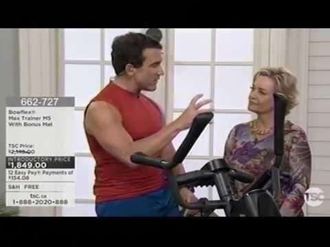 Tom Holland on The Shopping Channel for the Bowflex MAX - With Host Anne Marie Sweeney