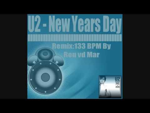 U2  New Years Day Remix