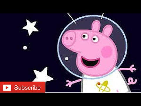 Peppa pig Episode in SPACE - movie games NEW