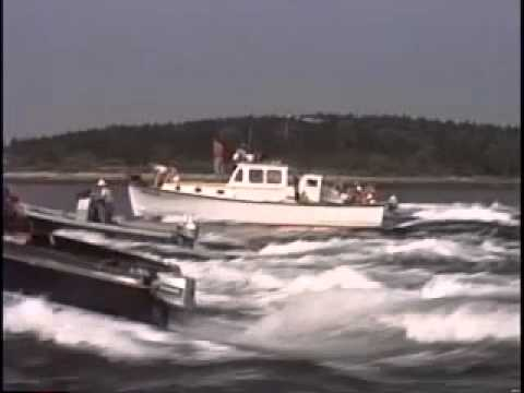 1st  Harpswell Lobster Boat Races