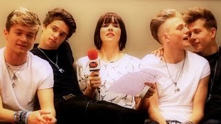 The Vamps taken from behind | An awkward encounter with the biggest new band in Britain