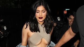 Kylie Jenner Flaunts MAJOR Underboob & Suffers Wardrobe Malfunction