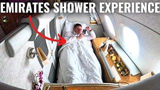 LUXURIOUS EMIRATES A380 FIRST CLASS & SHOWER EXPERIENCE