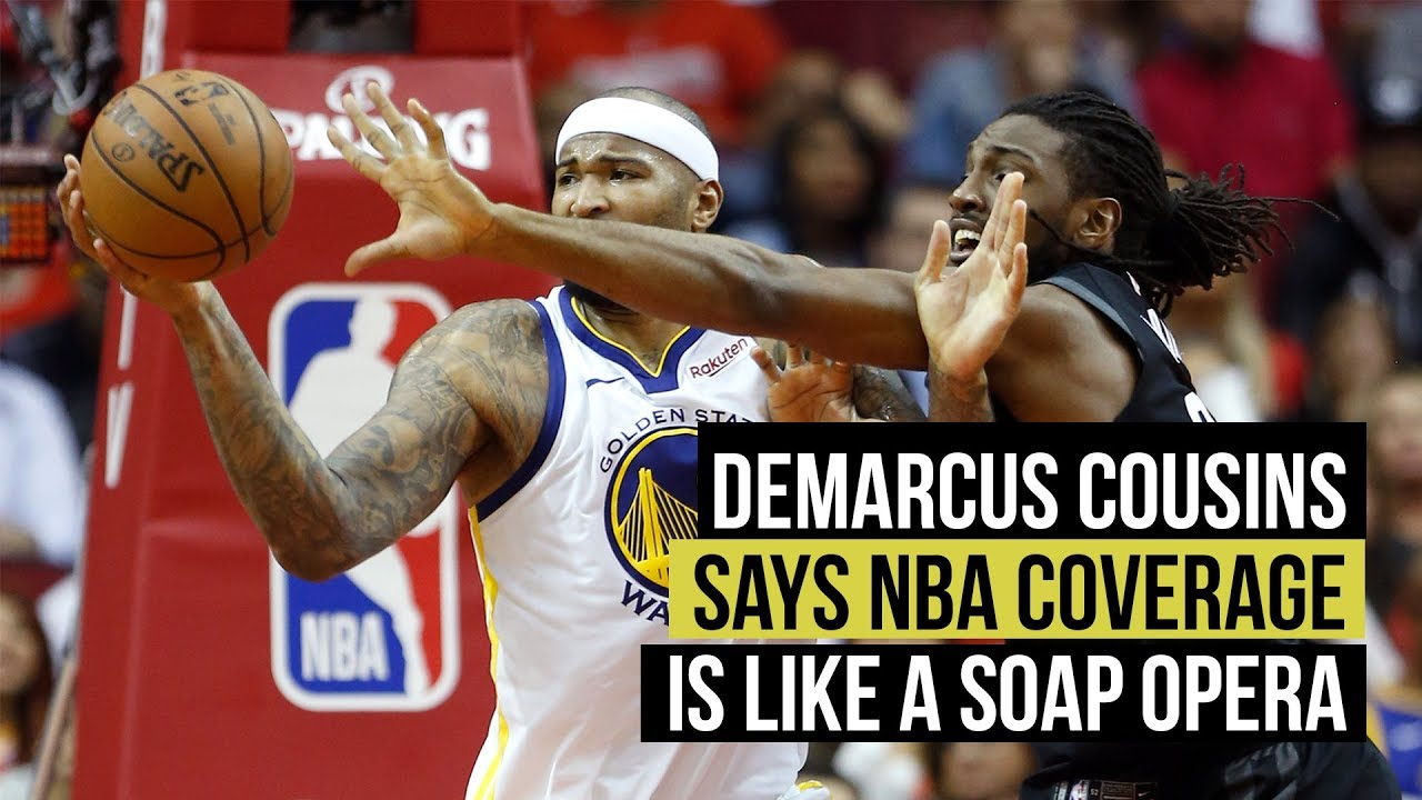 254e1ddb1 DeMarcus Cousins compares NBA coverage to soap opera - YouTube