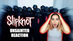 SLIPKNOT - UNSAINTED - Dumb Girl Reaction and Review Official Video