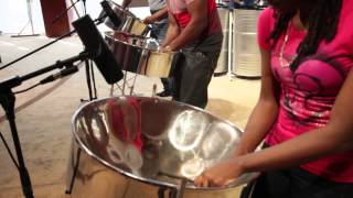 Fine China ~ Codrington Pan Family ~ Chris Brown (steelpan cover)
