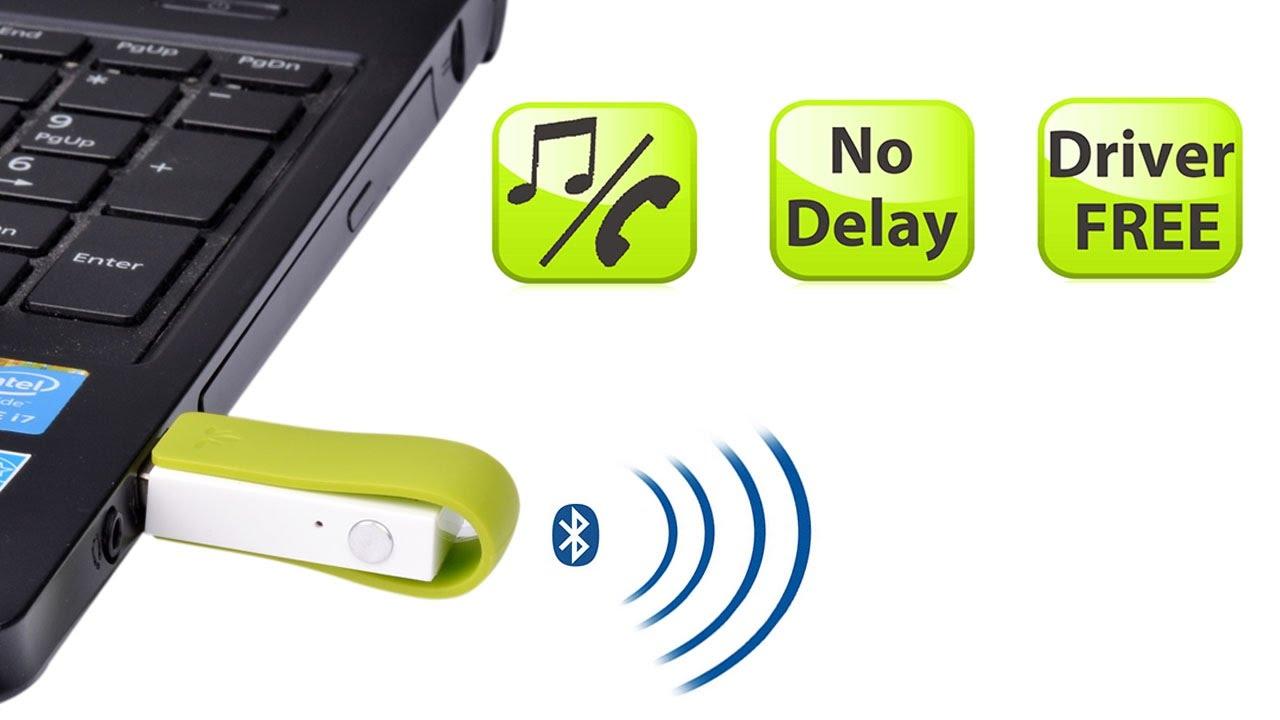 Avantree Leaf Long Range USB Bluetooth Audio Transmitter Adapter for PC Laptop M