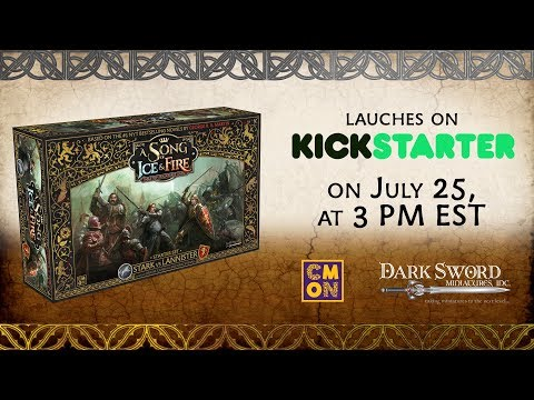 A Song of Ice and Fire Tabletop Miniatures Game Kickstarter Teaser