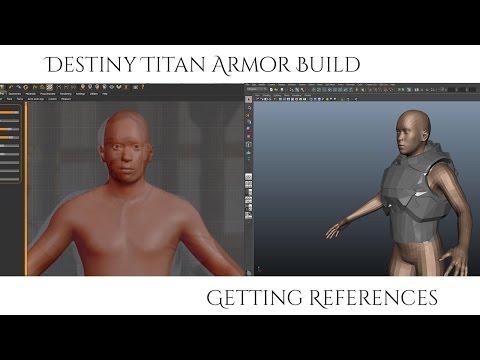 Destiny Titan Armor Build - Getting References