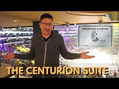Amex Centurion Suite: STAPLES Center