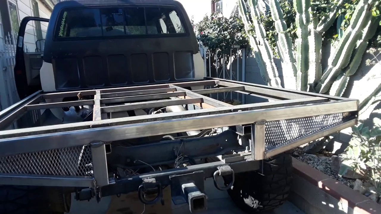 Squarebody Crewcab Flatbed Project Youtube