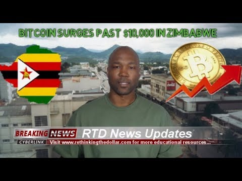 Bitcoin Surges Past $10,000 In Zimbabwe