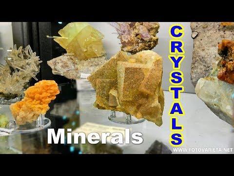 Minerals, Crystals, Gems, EuroMineralExpo 2018, International Exhibition, Minerali Turin (3)