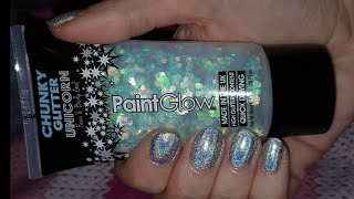 Paint glow, chunky glitter unicorn. Review Mp3