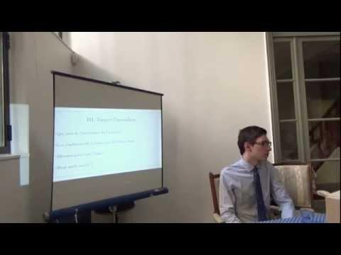 Conférence de Benoît Malbranque sur Turgot