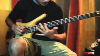 DEATH - IN HUMAN FORM - Bass cover by Papai