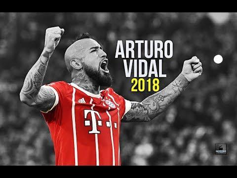 Arturo Vidal ● True Warrior ● Superb Tackles, Passes & Goals ● 2017/18 - HD