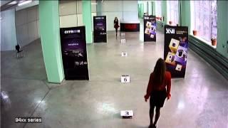 Тестовая видеозапись с AHD камер XVI серии xC94xx