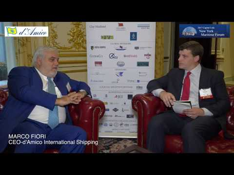 Capital Link Forum - Interview to Marco Fiori, CEO of d'Amico International Shipping