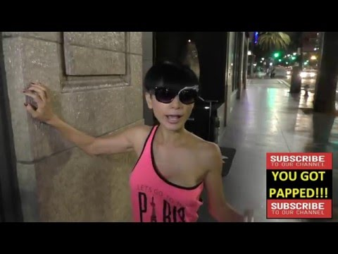Bai Ling talks about selfies and fashion Katsuya Restaurant in Hollywood