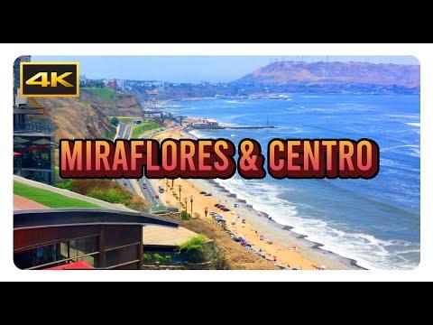 [4K] Miraflores & Centro - Lima / Peru - Cinematic | [UHD] [Ultra HD] [2160p]