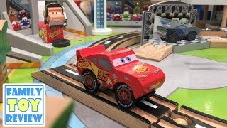 Cars 3 Toy Hunt - Disney Cars 3 Wooden Trackset Play Table - KidKraft Florida International Speedway