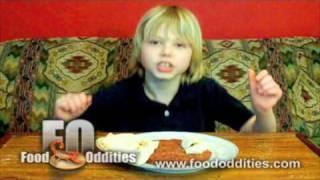 Remy Eats Raw Kibbee (food Oddities - Www.foododdities.com)