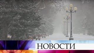 Во Владивостоке из-за резкого ухудшения погоды образовались многокилометровые пробки.